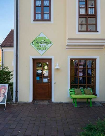 Außenansicht Christian´s Hair-Design in Schweitenkirchen
